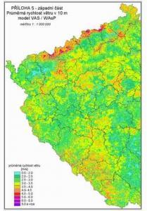 Vetrne Mapy A Vetrne Elektrarny V Ceske Republice Ekoblog Cz